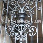 Кованые ворота с классическим орнаментом