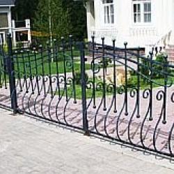Кованые ворота – сочетание стиля и красоты, виды кованых ворот. Как выбрать ворота из ковки