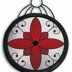Образец заготовки орнамента для художественной ковки
