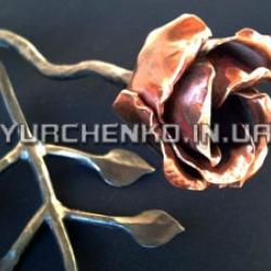 Медный оттенок так напоминает алый цвет розы